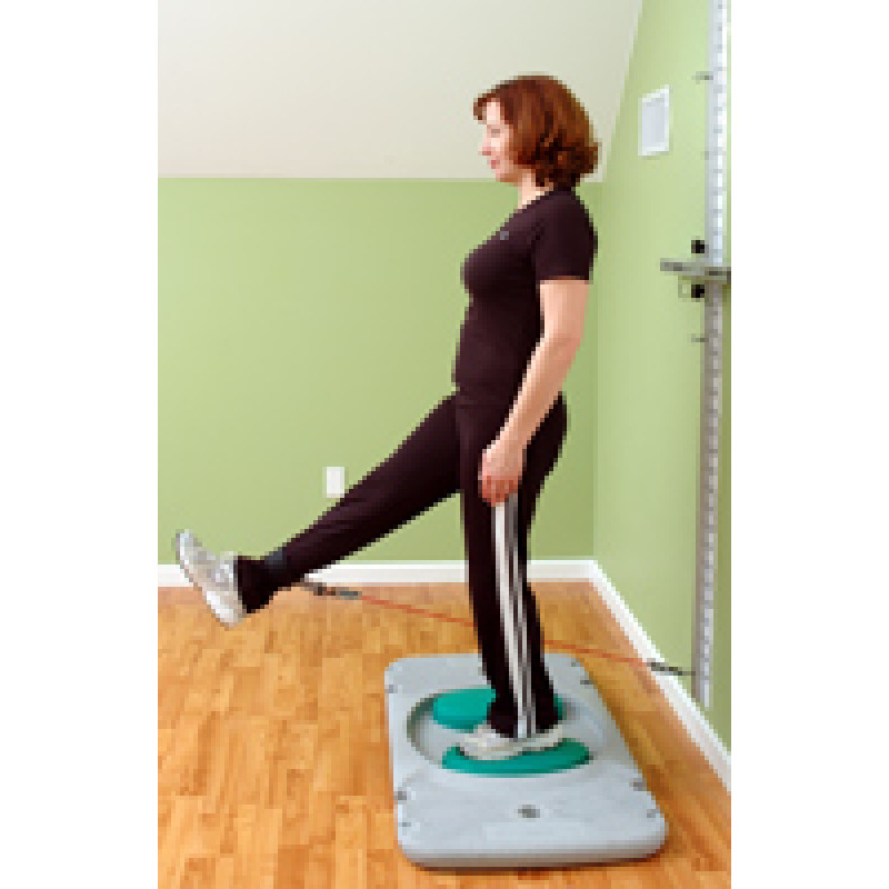 Rehab Station Hip Flexion on Stability Trainer