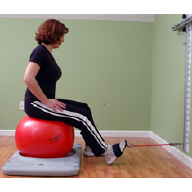 Rehab Station Ankle Dorsiflexion on Ball