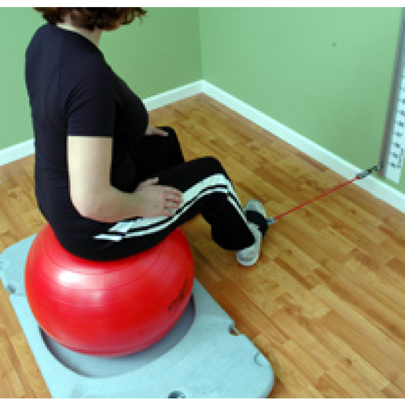 Rehab Station Ankle Inversion on Ball