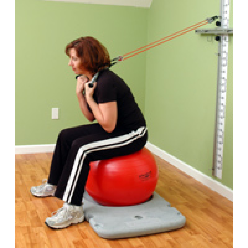 Rehab Station Lumbar Flexion on Ball
