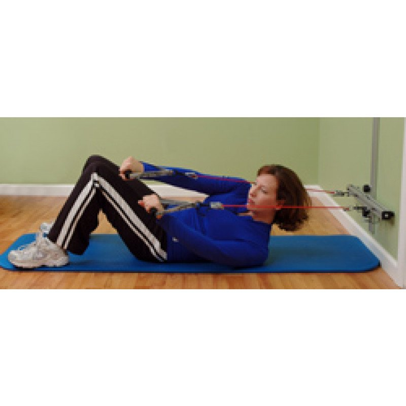 Wall Station Abdominal Oblique Curl-Up
