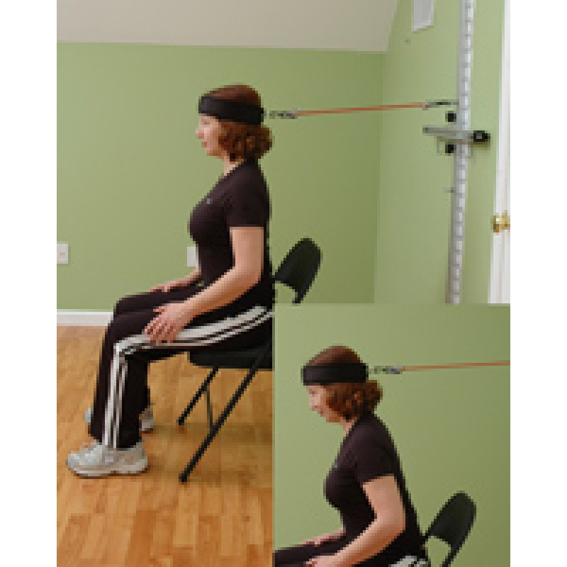 Wall Station Cervical Flexion