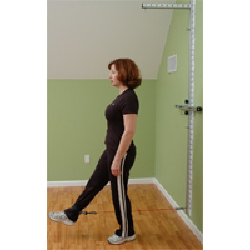 Wall Station Hip Flexion