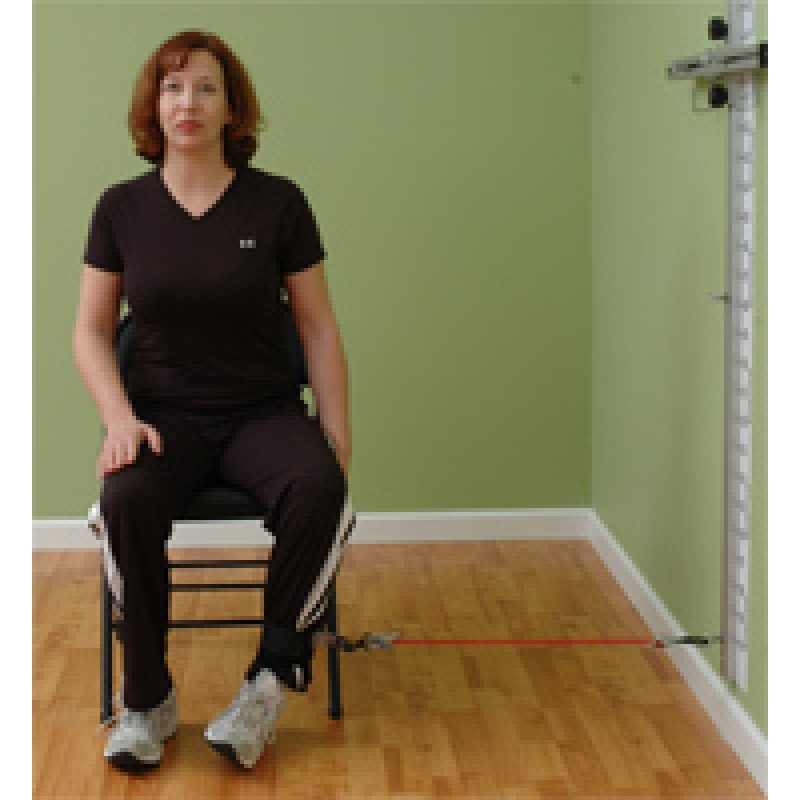 Wall Station Hip External Rotation