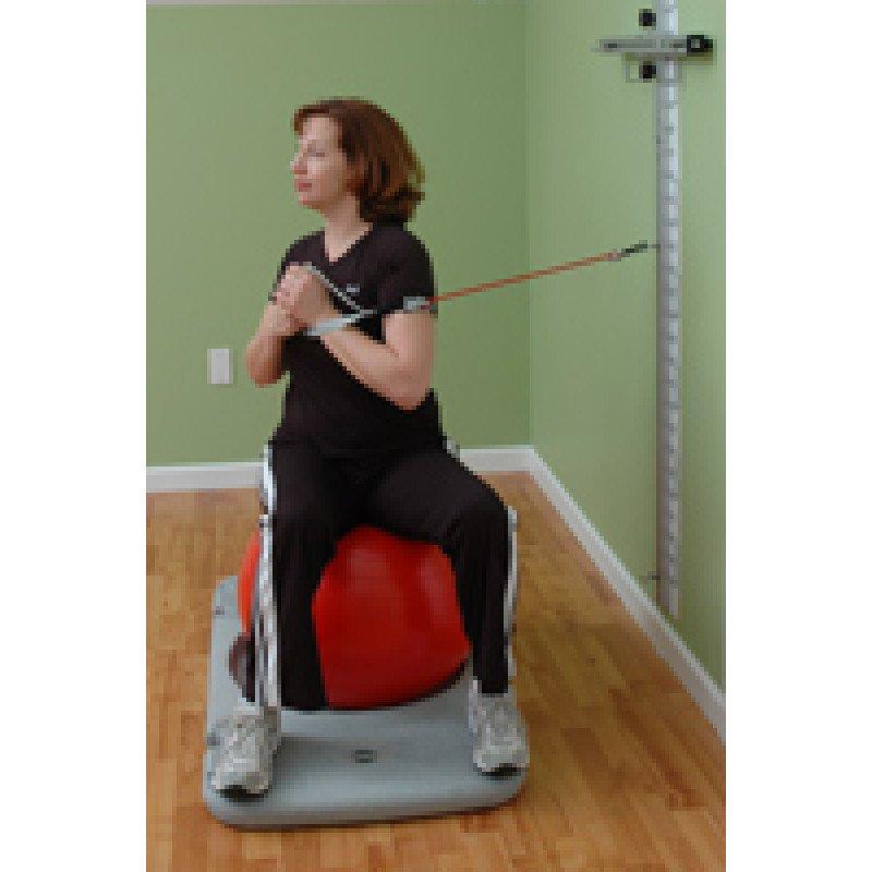 Rehab Station Thoracic Rotation on Ball