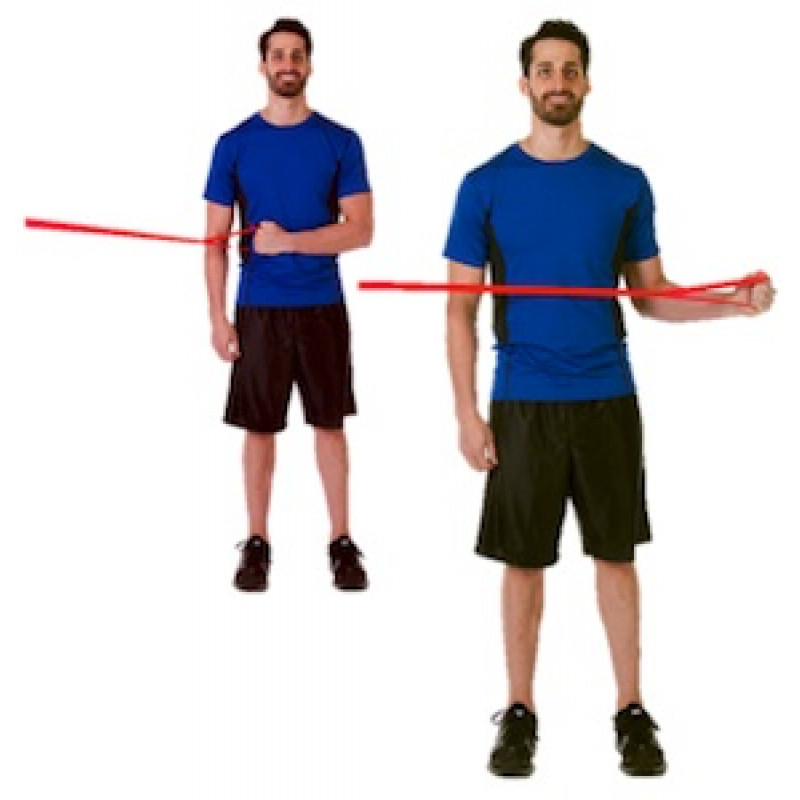 CLX Shoulder External Rotation at side
