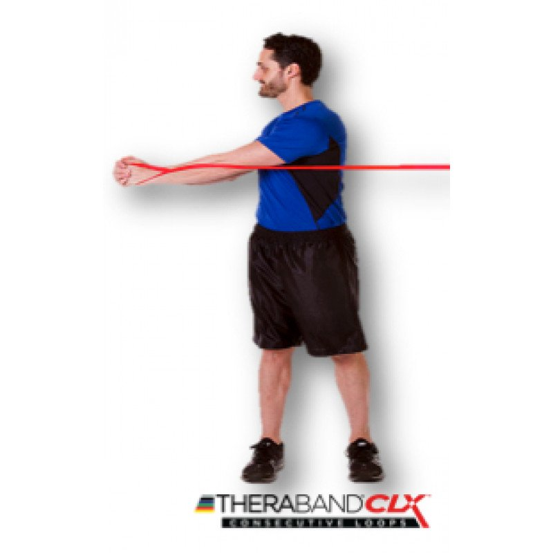 TheraBand CLX Core Rotation in Standing