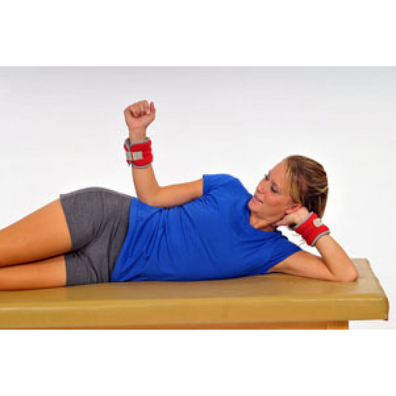 Thera-Band Cuff Weight Sidelying External Rotation