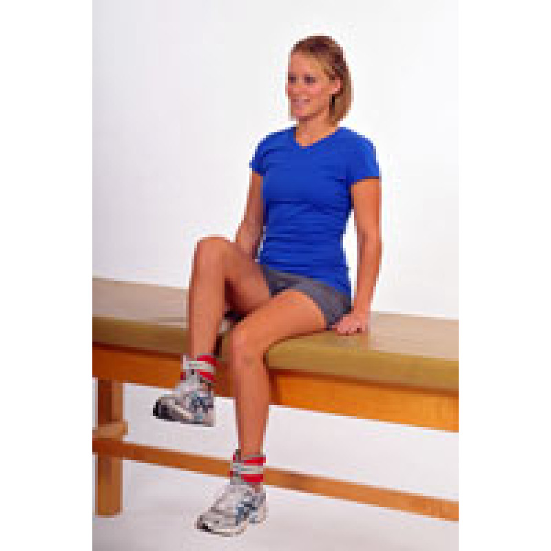 Thera-Band Cuff Weight Sitting Hip Flexion