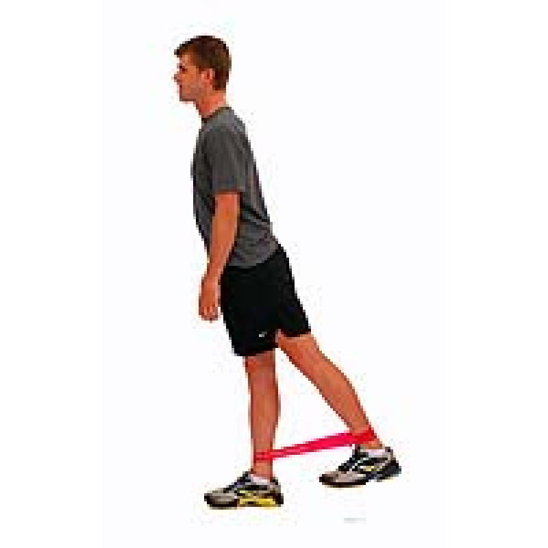 Thera-Band Loop Hip Extension in Standing