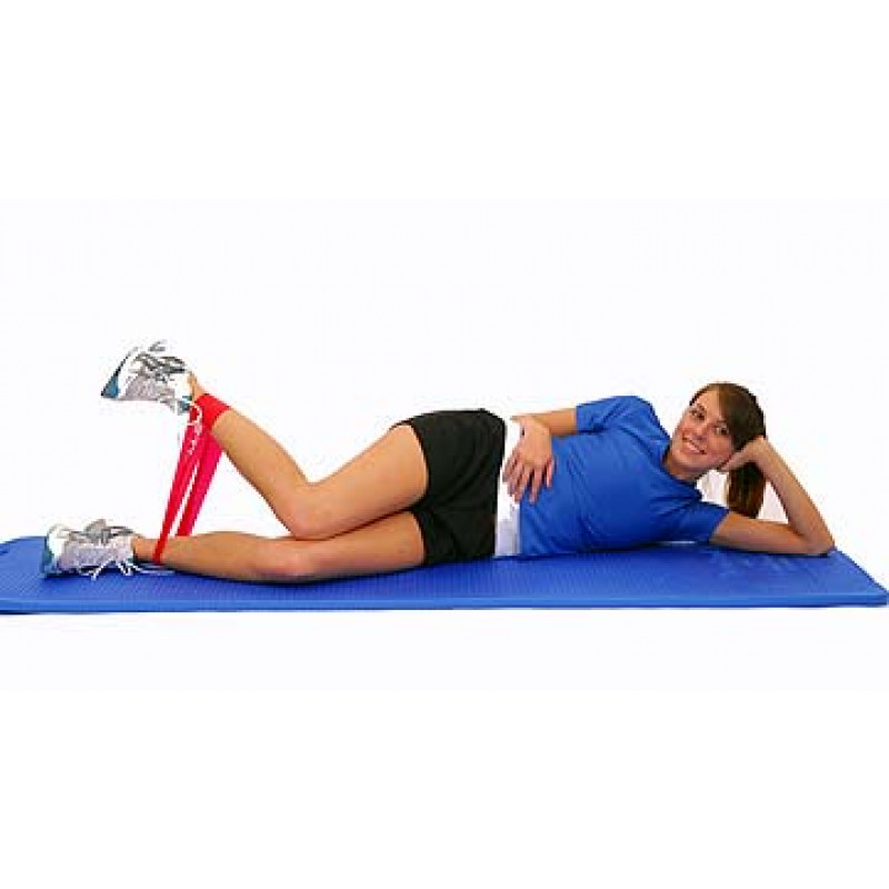 Thera-Band Loop Hip Internal Rotation in Sidelying