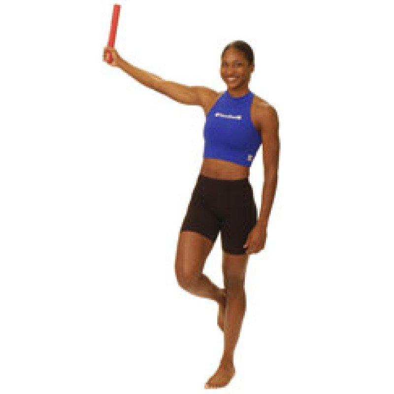 Thera-Band FlexBar Single Leg Stance Shoulder Oscillation