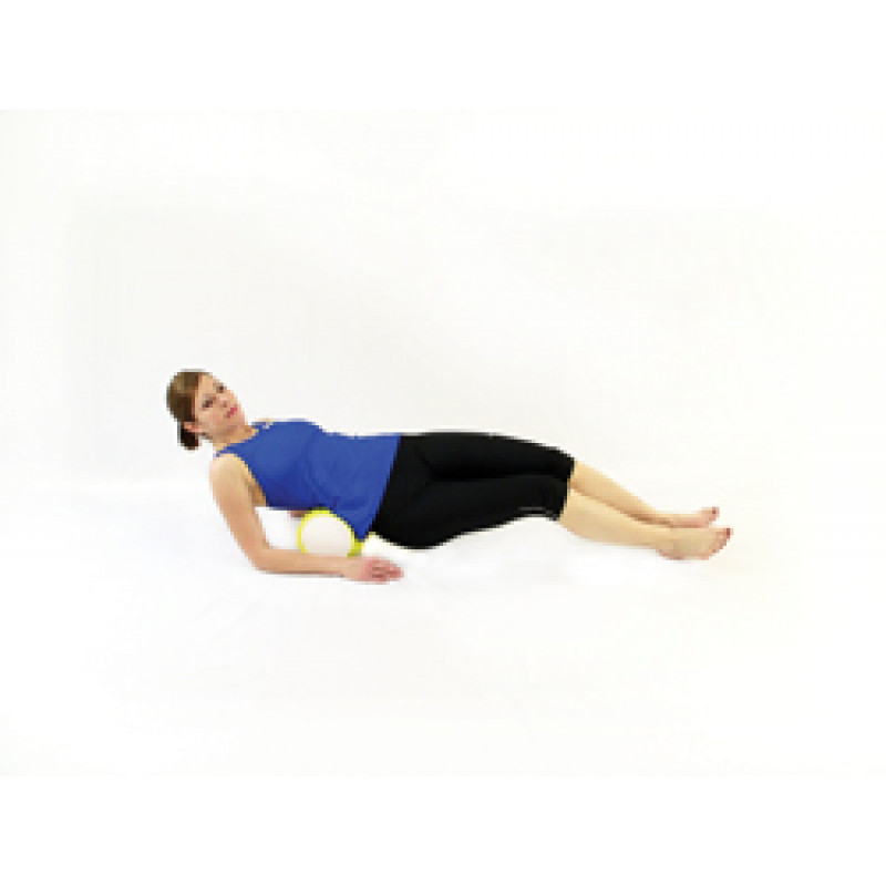 Pro Foam Roller with Wrap Isolated Low Back Release