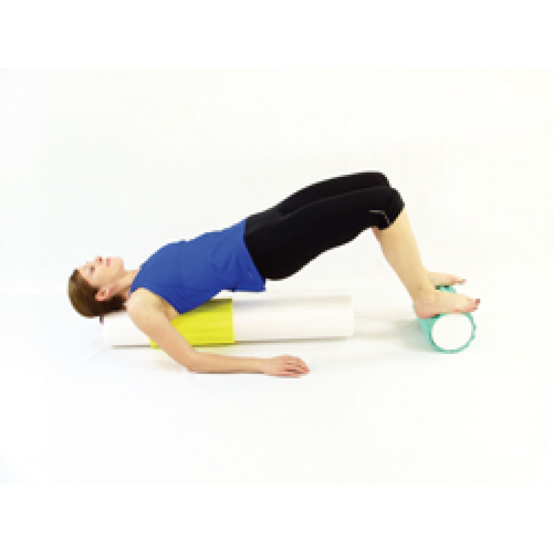 Pro Foam Roller with Wrap Bridge Stabilization