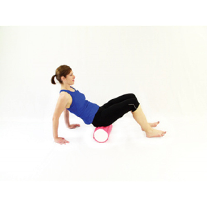 Pro Foam Roller with Wrap Gluteal Release