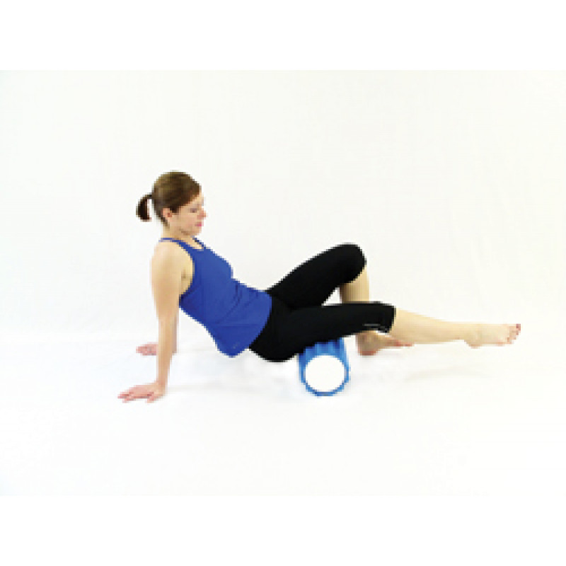 Pro Foam Roller with Wrap Isolated Hamstring Release
