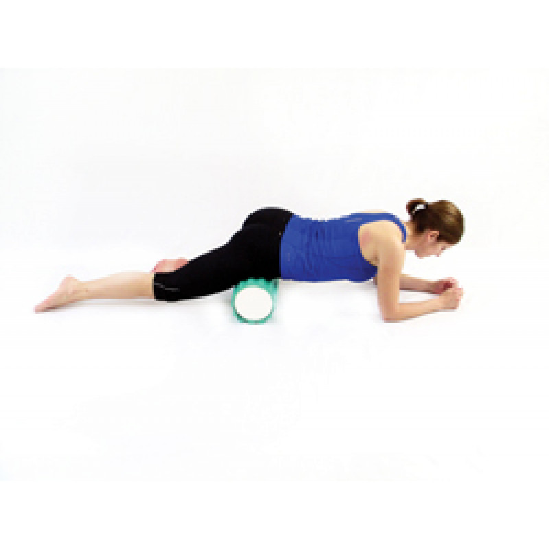 Pro Foam Roller with Wrap Hip Flexor Release