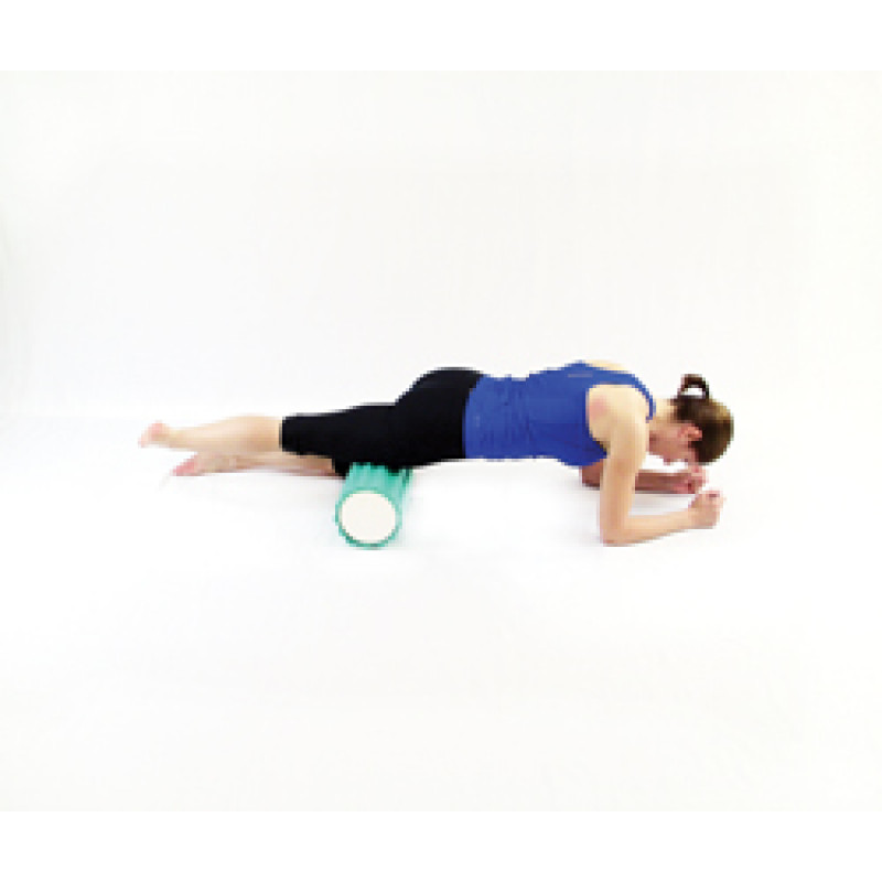Pro Foam Roller with Wrap Isolated Quadriceps Release
