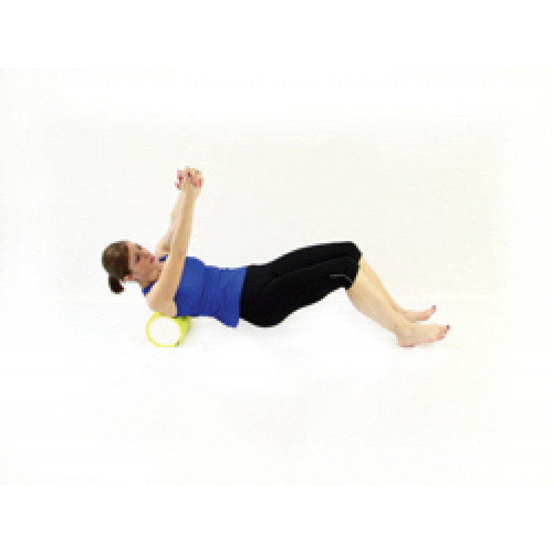 Pro Foam Roller with Wrap Isolated Rhomboids Release