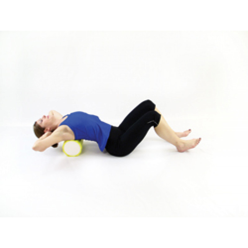 Pro Foam Roller with Wrap Horizontal Thoracic Release