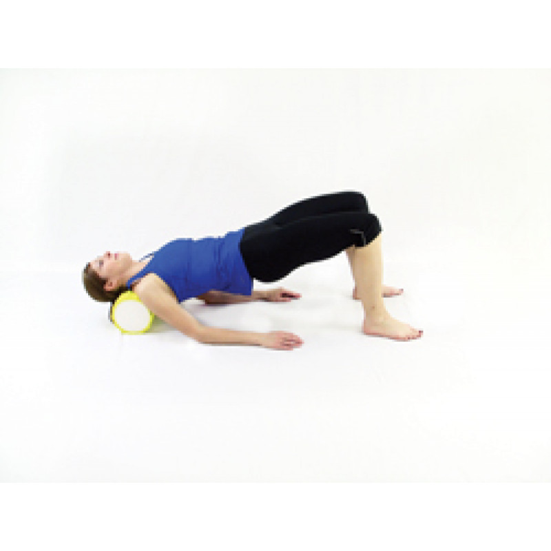 Pro Foam Roller with Wrap Upper Trapezius Release