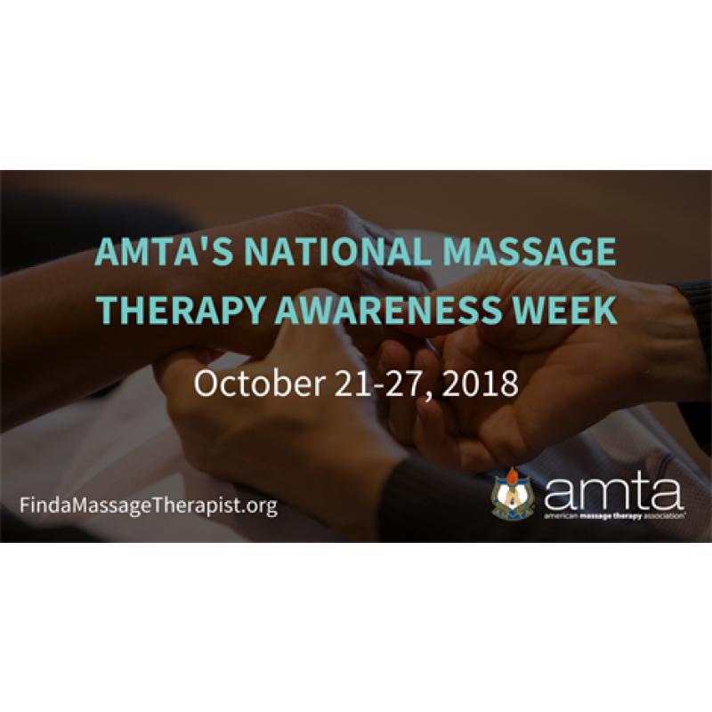 5 Ways to Celebrate National Massage Therapy Awareness Week!