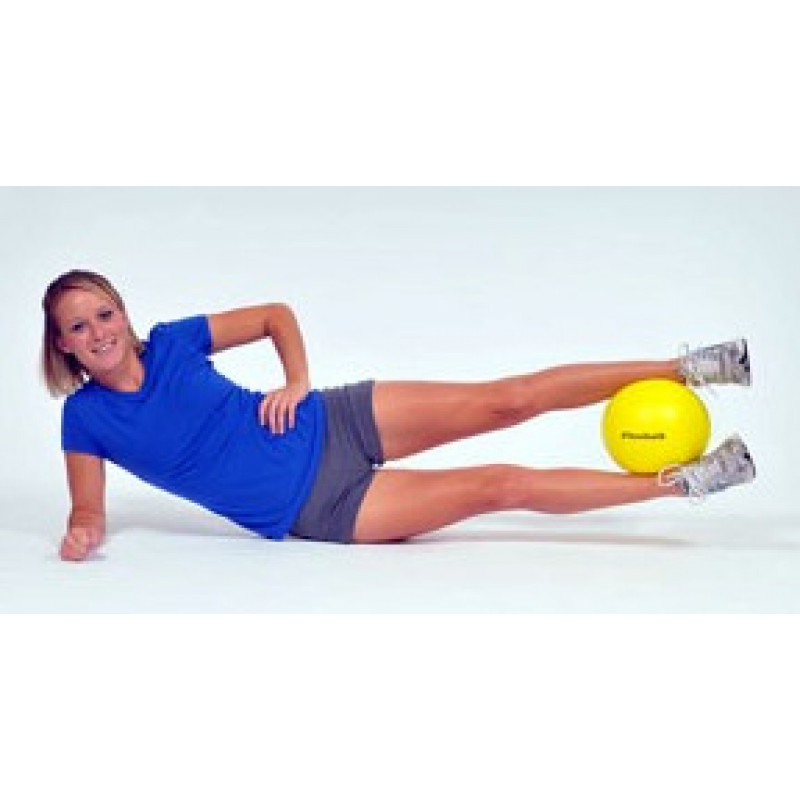 Thera-Band Mini Ball Sidelying Hip Abduction