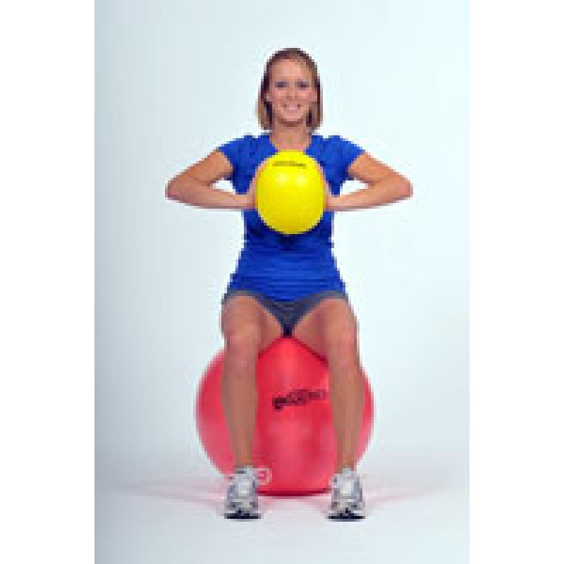 Thera-Band Mini Ball Chest Squeeze