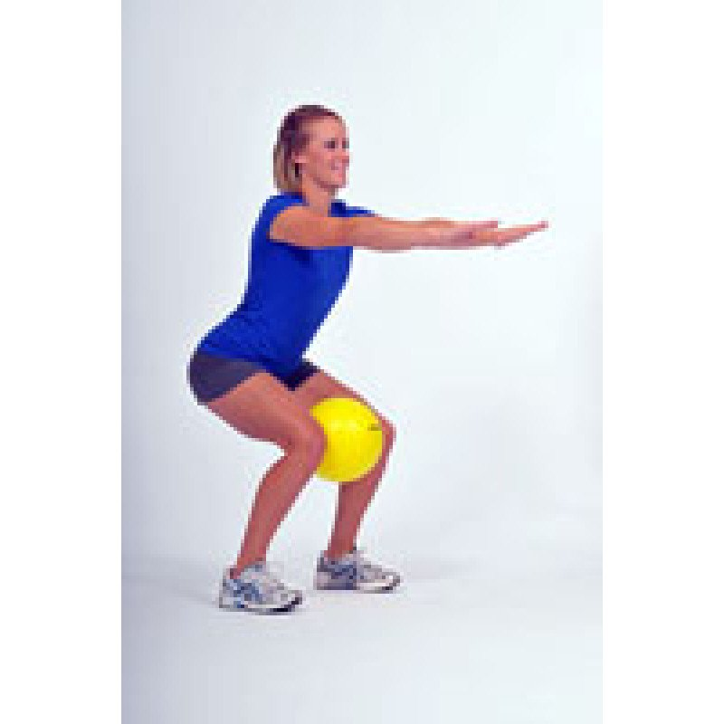 Thera-Band Mini Ball Squat