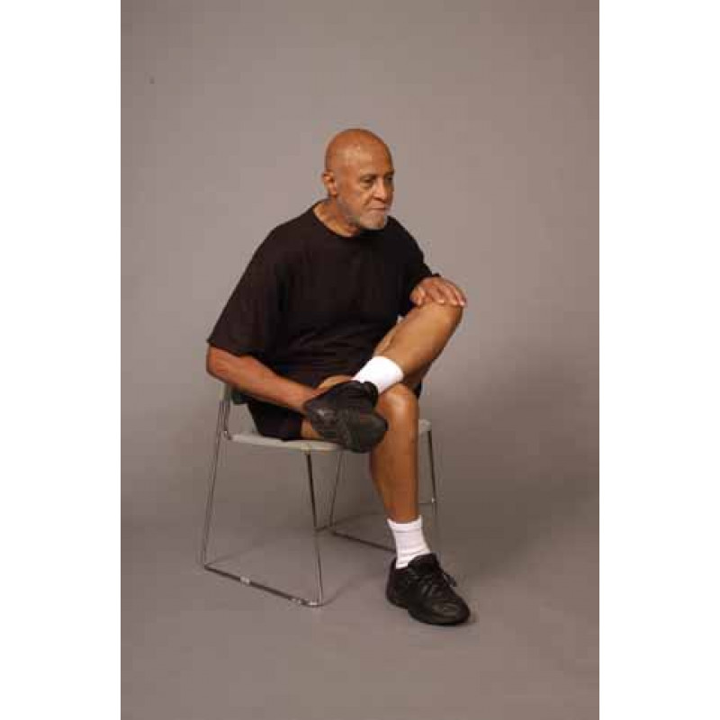 Piriformis Stretch in Sitting - Older Adult
