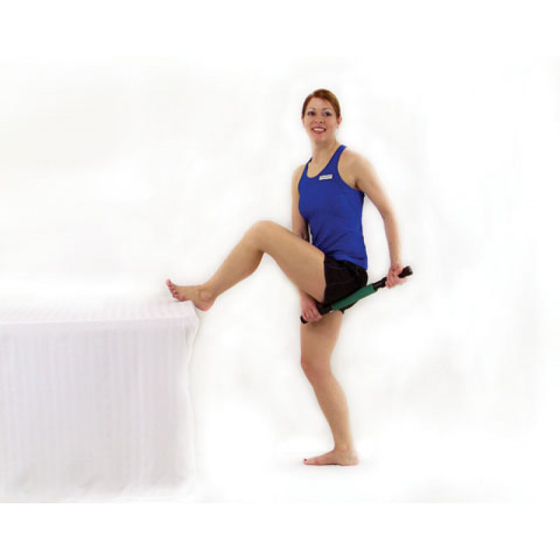 Roller Massager+ Elongated Glutes and Piriformis Release