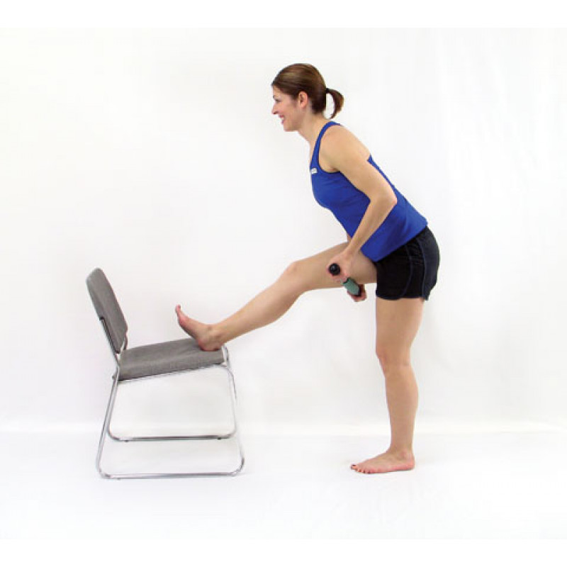 Roller Massager+ Elongated Hamstring Release