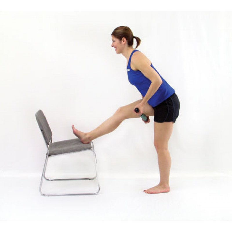 Roller Massager+ Elongated Hamstring Release