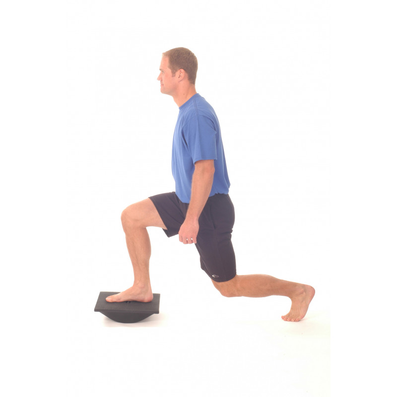 Thera-Band Rocker Board Lunge in Sagittal Plane