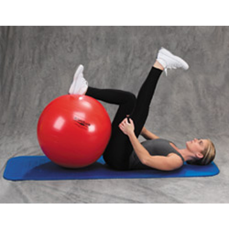 Pro Series Exercise Ball Hamstring Stretch