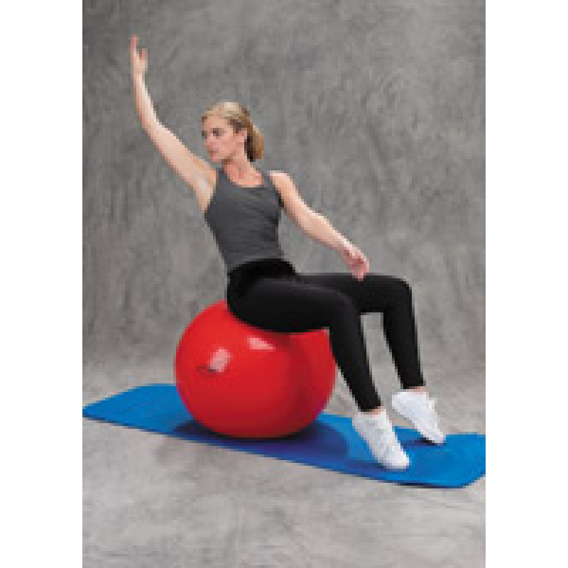 Pro Series Exercise Ball Abdominal Obliques in Sitting
