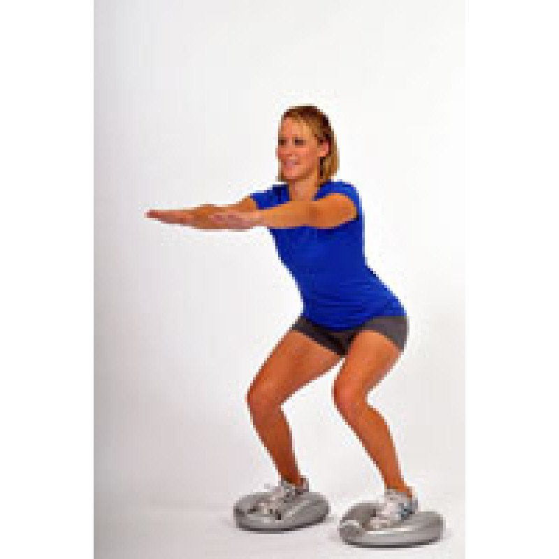 Thera-Band Stability Disc Squat