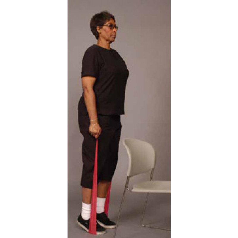 Thera-Band Ankle Calf Raise in Standing