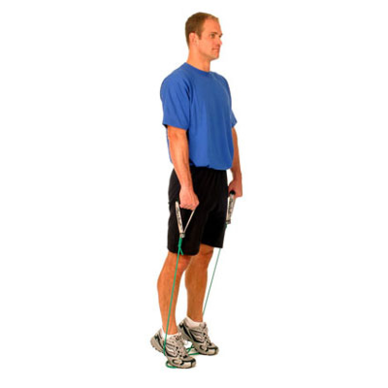 Thera-Band Ankle Calf Raise