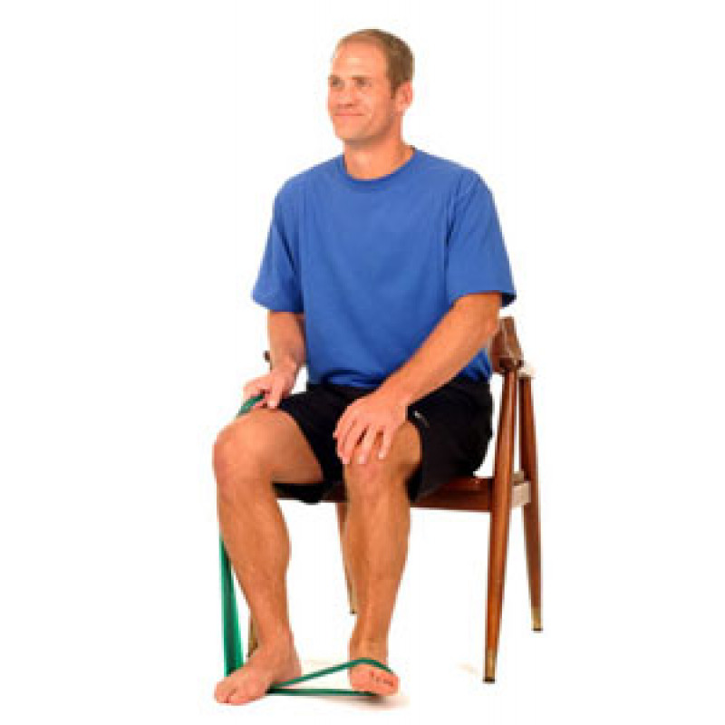 Thera-Band Ankle Eversion (in Sitting)