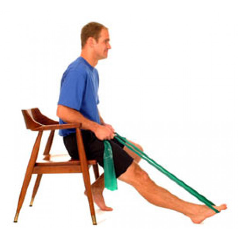 Thera-Band Ankle Plantarflexion (sitting)