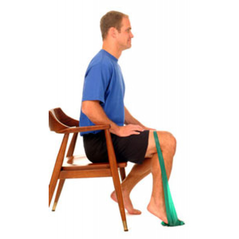 Thera-Band Ankle Plantarflexion (Soleus)