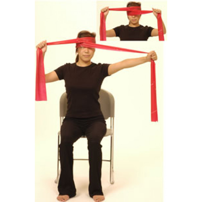 Thera-Band Cervical Rotation Isometric
