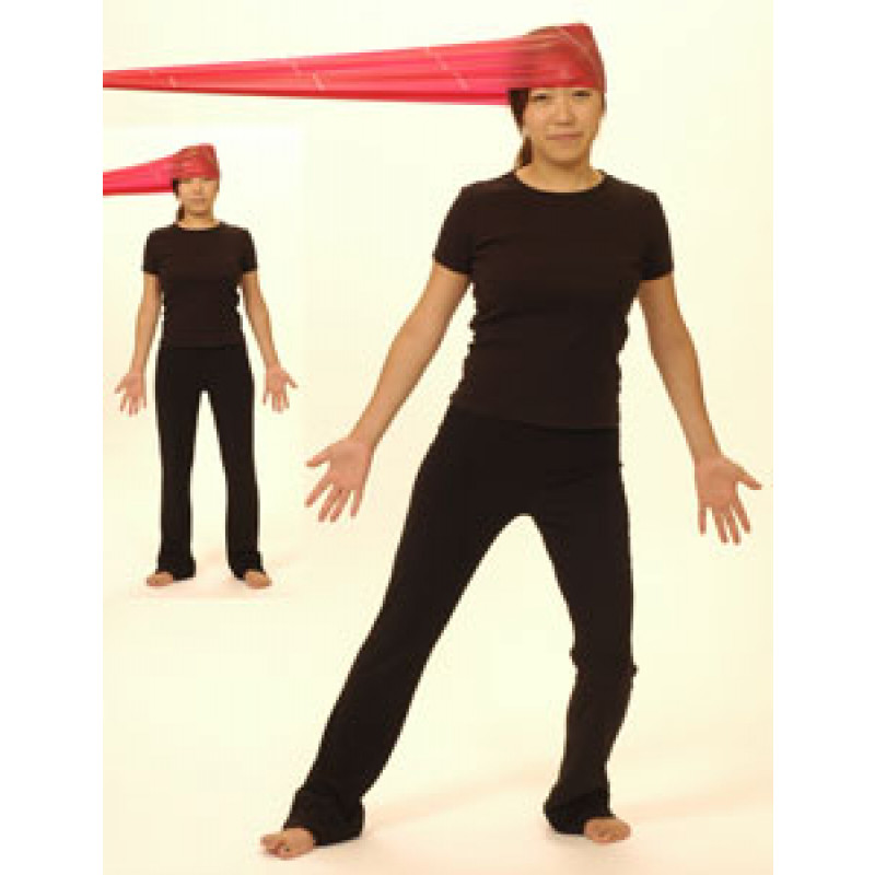 Thera-Band Cervical Sidebending-Dynamic Isometric (standing)