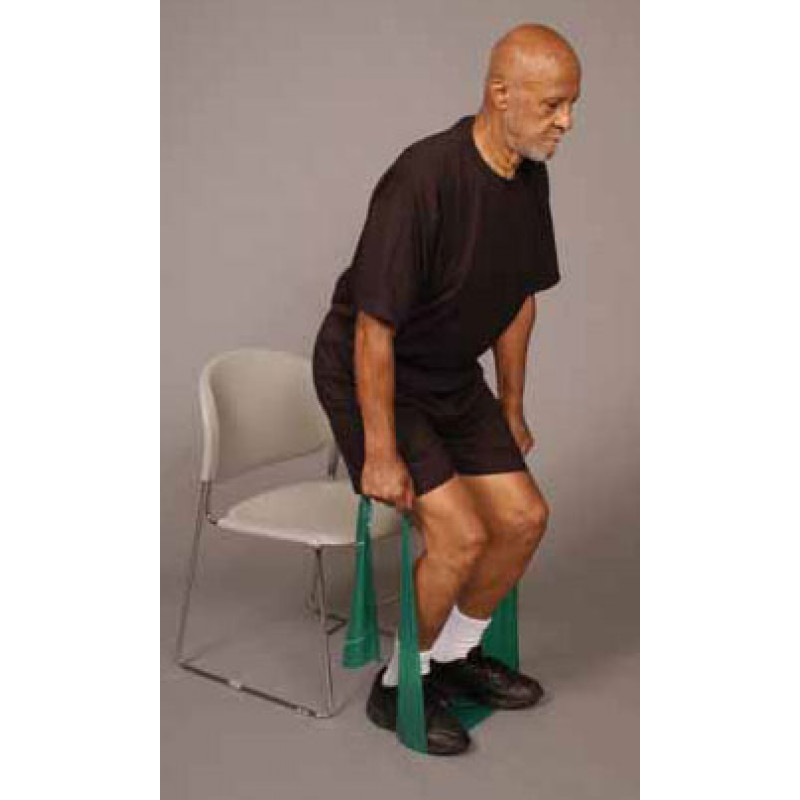 Thera-Band Knee Chair Squat