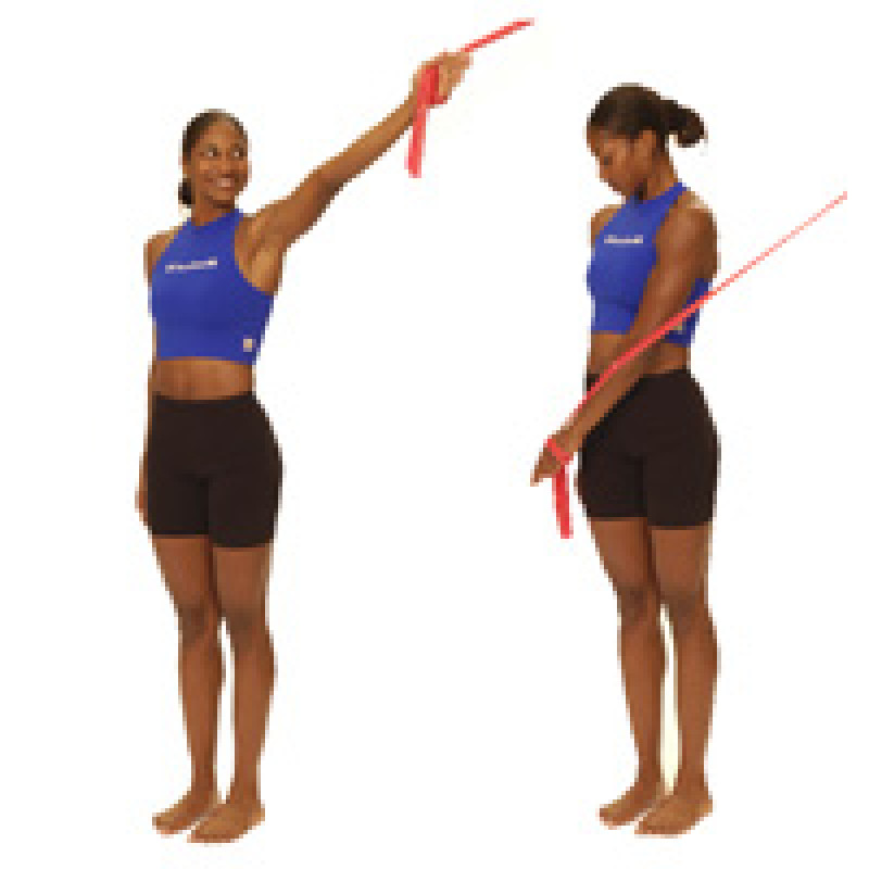 Thera-Band Shoulder Diagonal Extension (D2)