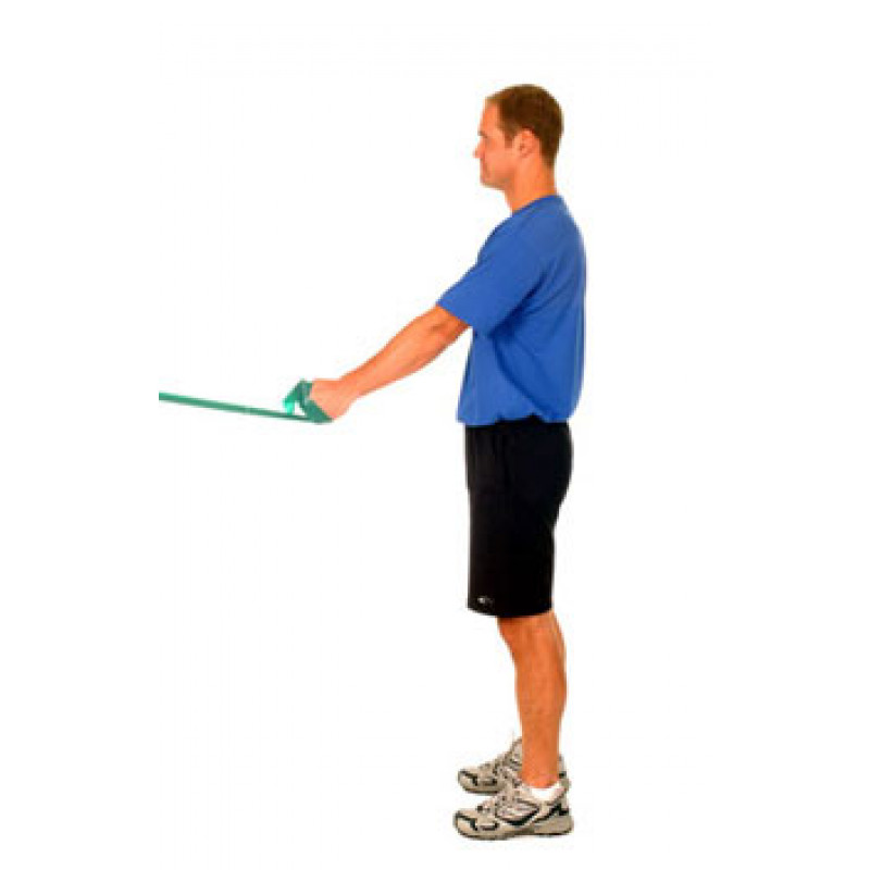 Thera-Band Shoulder Extension (Starting at 45)