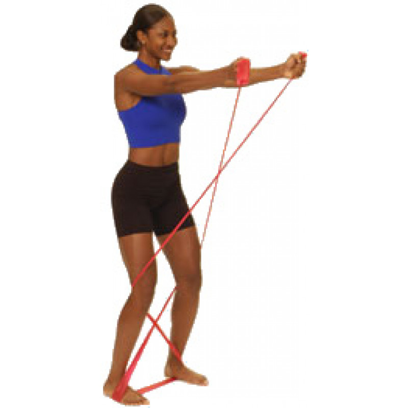 Thera-Band Shoulder Front Raise in Standing (Euro)