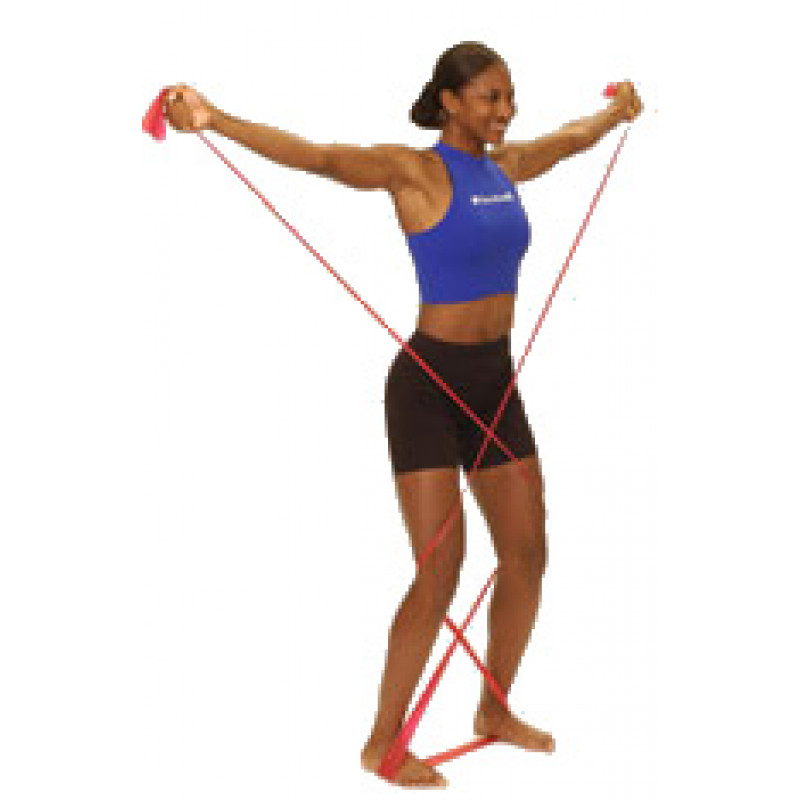 Thera-Band Shoulder Lateral Raise in Standing (Euro)
