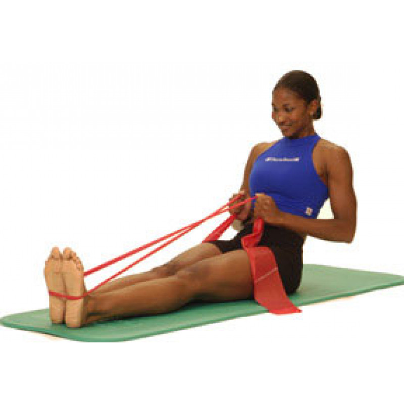 Thera-Band Trunk Extension (in long sitting)